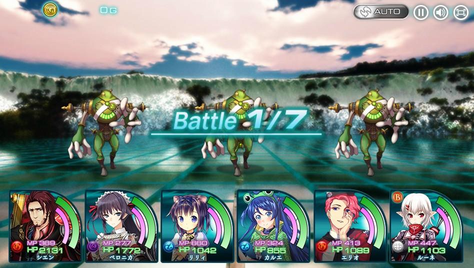 X戦闘画面