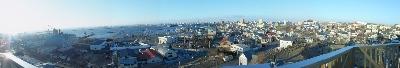 3月釧路港夕景