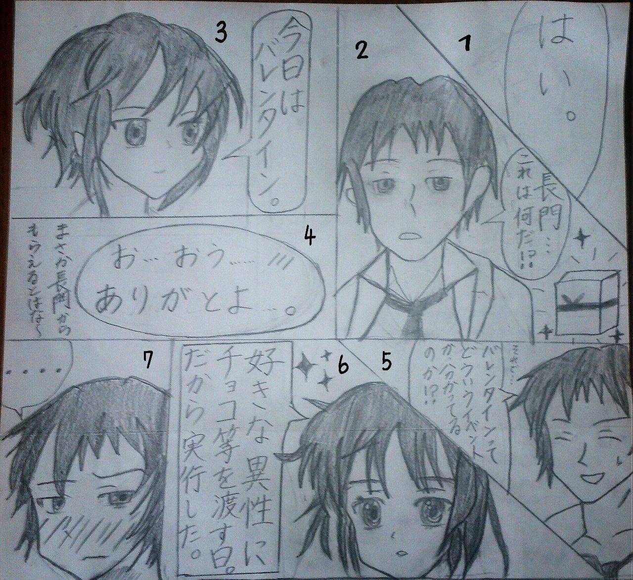 キョン長漫画(ハルヒワンドロ)