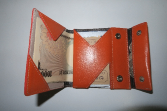 薄い財布1