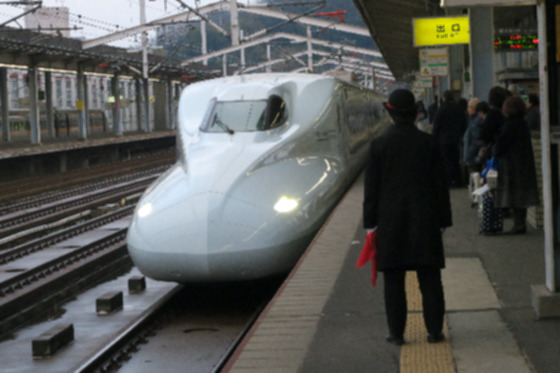 新幹線旅4