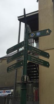 Holyhead city centre