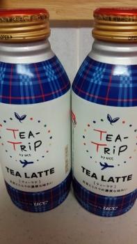 第2弾TEA-TRiP TEA LATTE 缶375g
