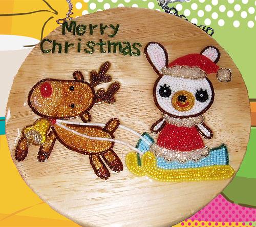 玄関プレート クリスマス 12月