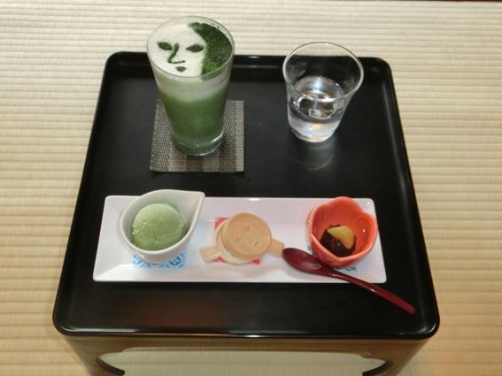 銀閣寺店限定の「よーじやセット」