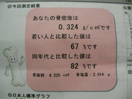 20160317骨密度測定日②