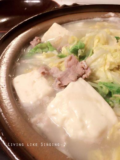 白菜と豆腐のトロトロ鍋