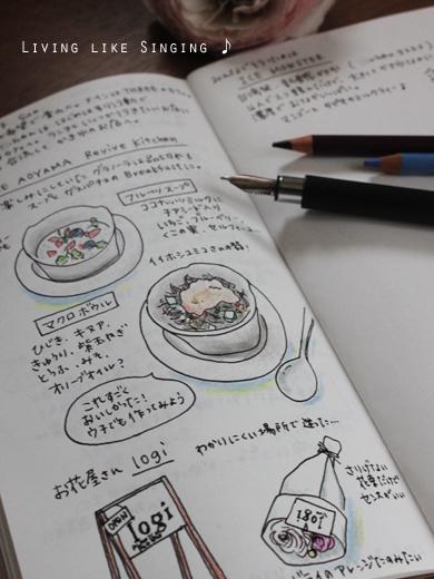 手帳に記録②