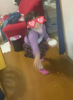 豆まき 3歳