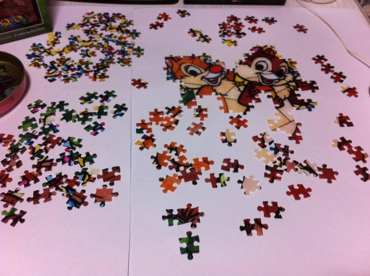 ジグゾーパズル