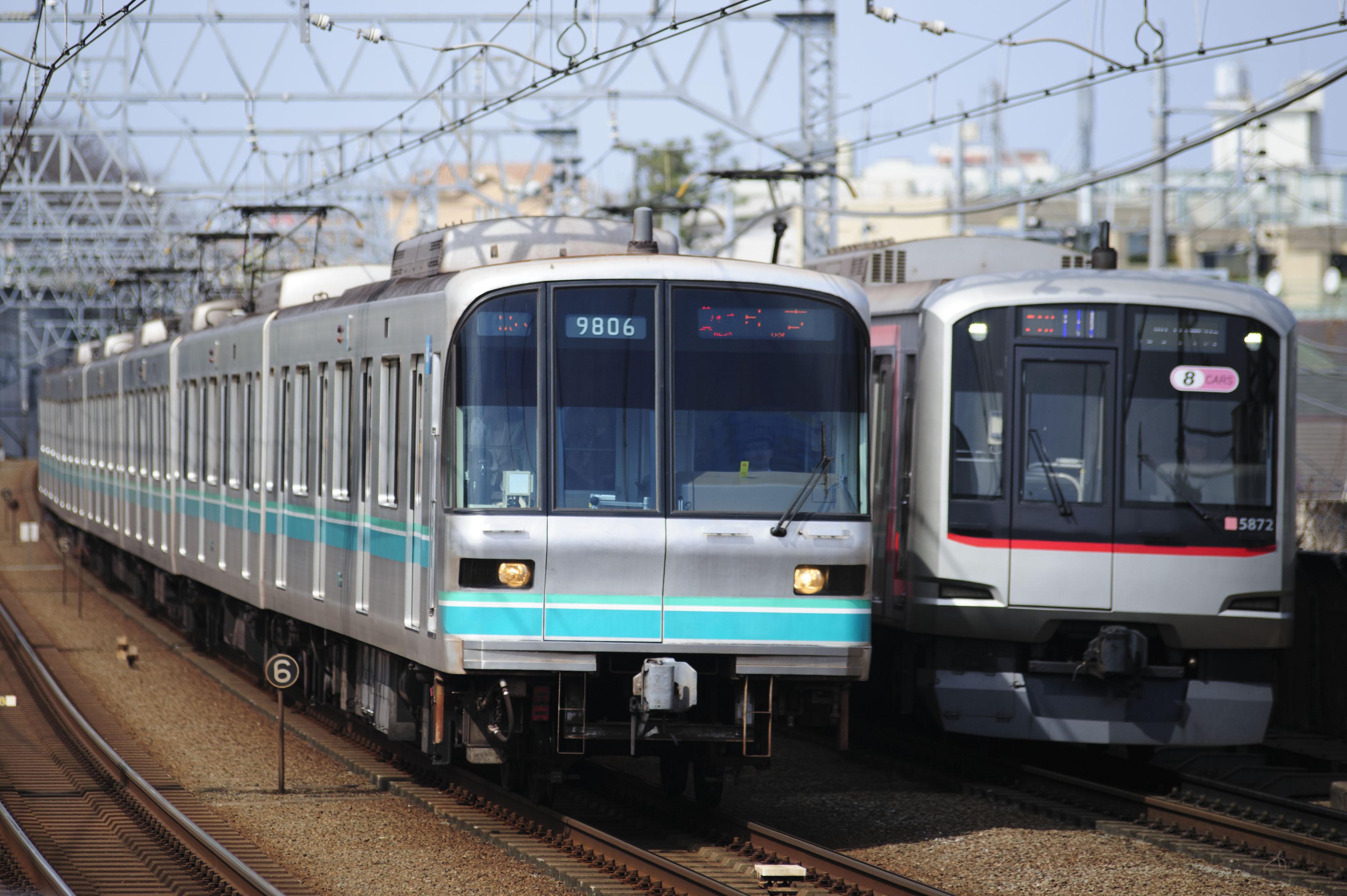 「東横線 目黒線」の画像検索結果