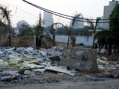 インド ゴミ
