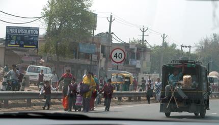 インド 高速道路