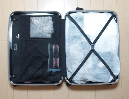スーツケース 使っていない 収納