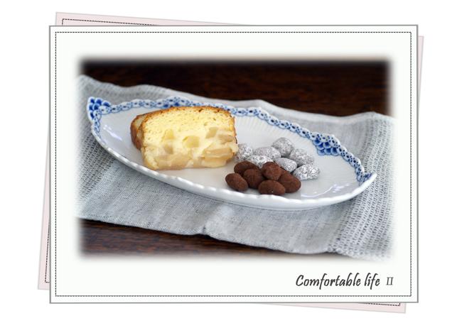 りんごとヨーグルトのケーキ&マンデルショコラーデweb用