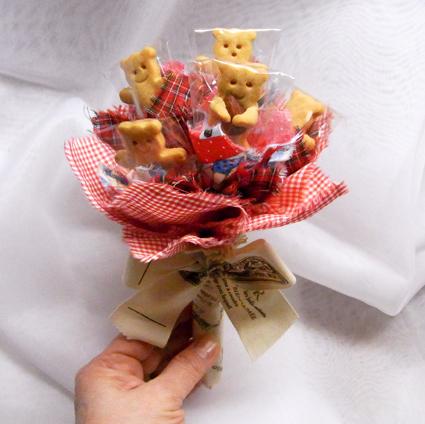 くまクッキー赤1s