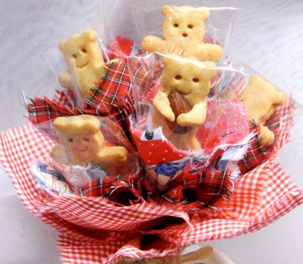くまクッキー赤3s
