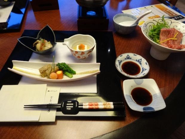 一の坊夕食 (2)