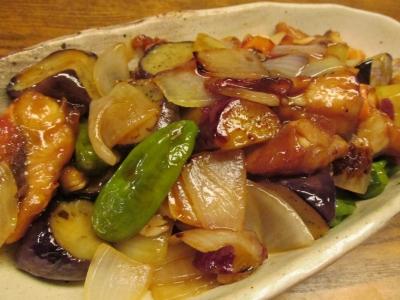 ホウボウとゴロゴロ野菜の甘酢あんかけ5