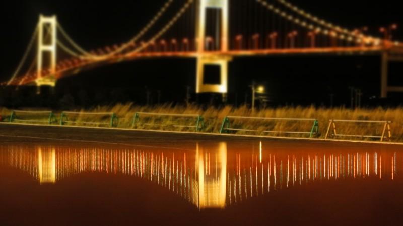 夜の映し橋