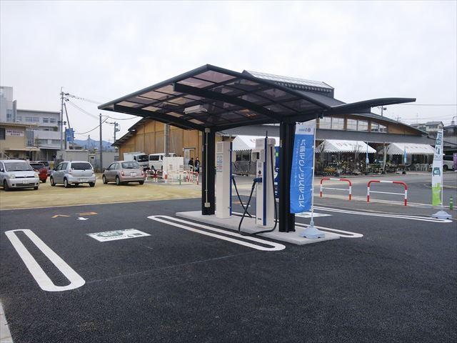 EV車電気スタンド