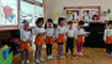 4 幼稚園の生活発表会