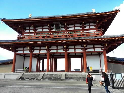 4 奈良・平城旧跡・朱雀門