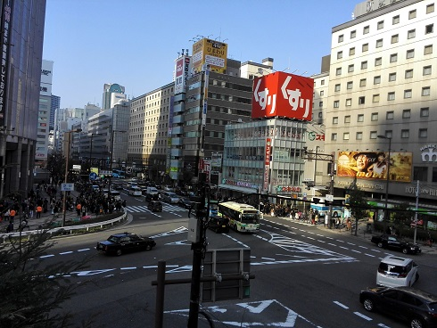 1 新阪急ホテル方面