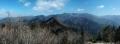 14 大峰山系パノラマ写真 拡大