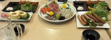 7 京橋商店街にて・・