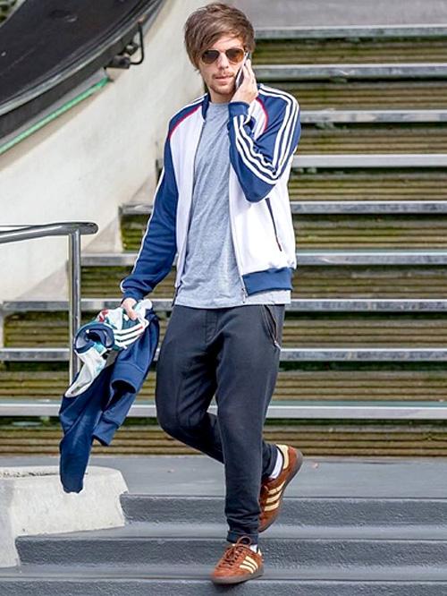 ルイ・トムリンソン(Louis Tomlinson):アディダス(Adidas)/サンドロ(Sandro)