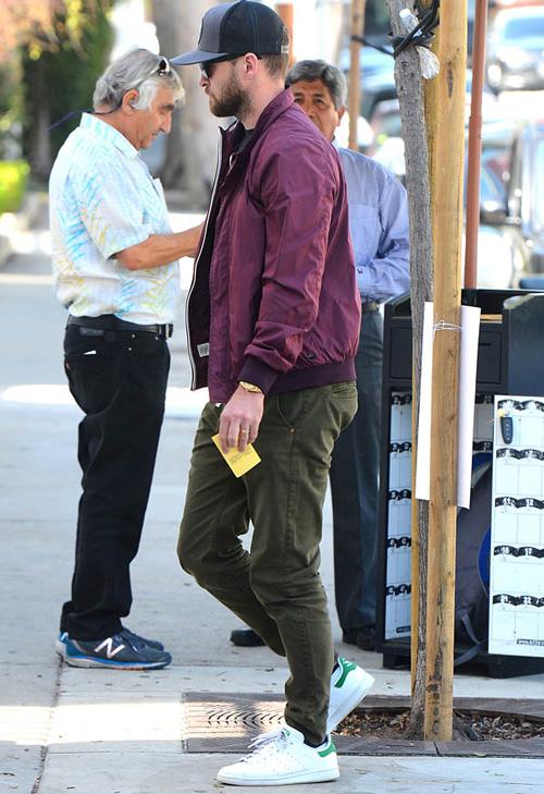 ジャスティン・ティンバーレイク(Justin Timberlake):スコッチアンドソーダ(Scotch & Soda)/アディダス(Adidas)/リンクソウル(Linksoul)/ロレックス(Rolex)