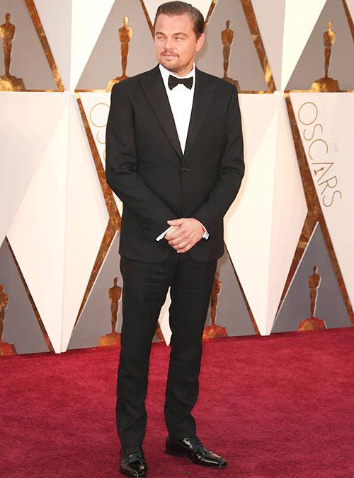 レオナルド・ディカプリオ(Leonardo DiCaprio):アルマーニ(Armani)/クリスチャンルブタン(Christian Louboutin)