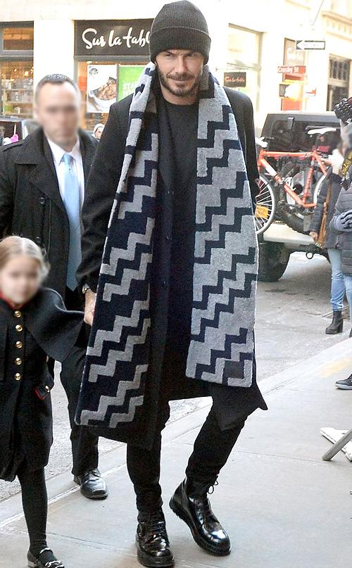 デヴィッド・ベッカム(David Beckham) : ルイヴィトン(Louis Vuitton)