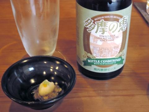 蕎麦の実の酢の物