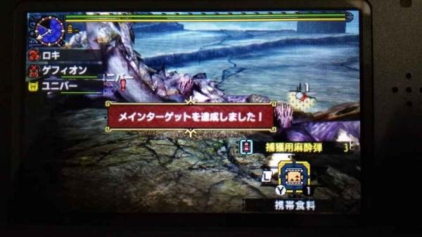 紫毒姫Lv10クリア 2 捕獲