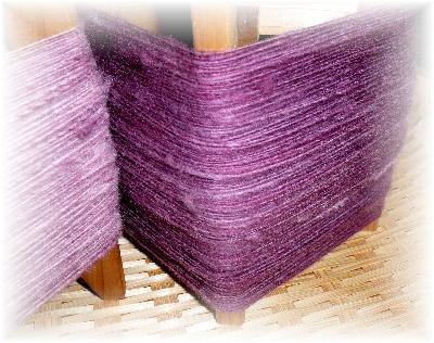 手紡ぎ糸1