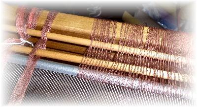 裂き織りマフラー34-1