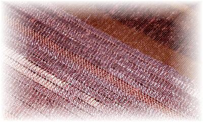 裂き織りマフラー34-3