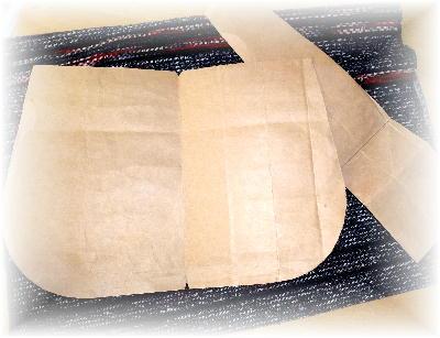 裂き織りバッグ8-2