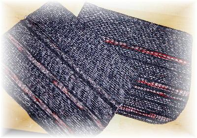 裂き織りバッグ8-3