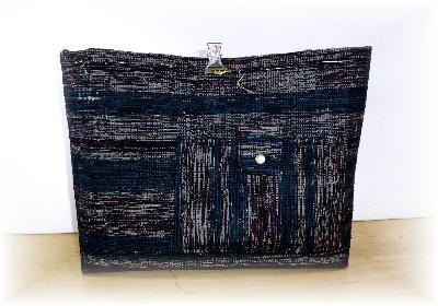 裂き織りトート12-1