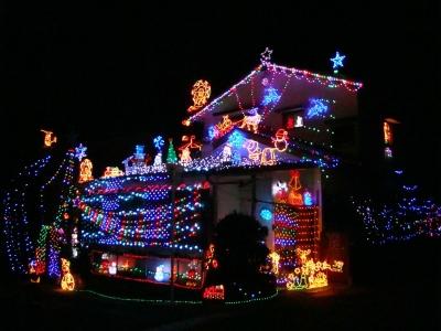クリスマスイルミネーション2015