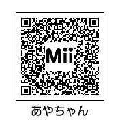 白本彩奈(QRコード)