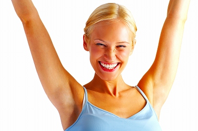 s-stretch smile woman1