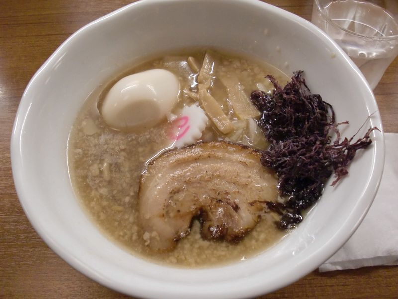 虹ノ麺@神田・20160113・中華そば