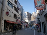 BASSO@江戸川橋・20160117・商店街