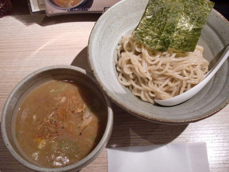 百式@目黒・20160121・渡り蟹つけ麺