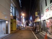 東京らあめんタワー@秋葉原・20160203・無人の路地