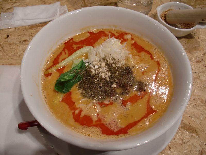 ごまる@銀座一丁目・20160221・ごまる担担麺